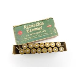 REMINGTON 33 WIN KLEANBORE AMMO