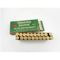 REMINGTON 45-70 GOVERNMENT AMMO