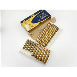 DOMINION 308 WINCHESTER AMMO, BRASS