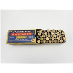 PETERS RUSTLESS .44 WINCHESTER (.44-40)AMMO