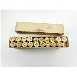 W.R.A. CO. 45-70 GOVT. AMMO, BRASS