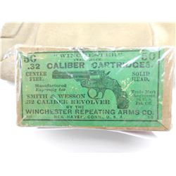 WINCHESTER 32 S & W (1890'S) CENTER FIRE AMMO