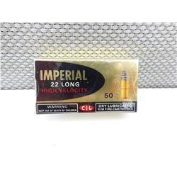 IMPERIAL 22 LONG HIGH VELOCITY AMMO