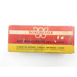 WINCHESTER 401 WIN SELF-LOADING AMMO