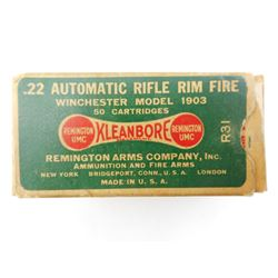 REMINGTON 22 AUTOMATIC RIM FIRE AMMO