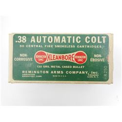 REMINGTON 38 AUTOMATIC COLT AMMO