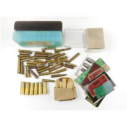 ASSORTED AMMO, BRASS, DISPLAY AMMO