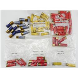 ASSORTED 12 GA, AND 20 GA SHOTGUN SHELLS