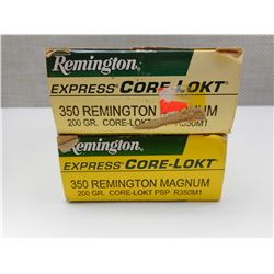REMINGTON EXPRESS 350 REMINGTON MAGNUM AMMO