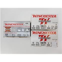 WINCHESTER 12 GAUGE SHOTSHELLS ASSORTED