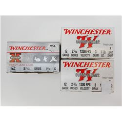 WINCHESTER 12 GAUGE SHOTSHELLS ASSORTED
