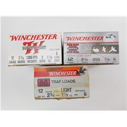 WINCHESTER ASSORTED 12 GAUGE SHOTSHELLS