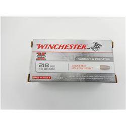 WINCHESTER SUPER X 218 BEE AMMO