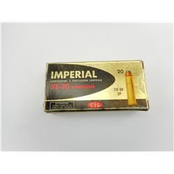 C.I.L. IMPERIAL 32-20 WIN AMMO