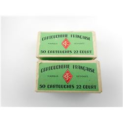 CARTOUCHERIE FRANCAISE 22 SHORT AMMO