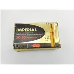 IMPERIAL 30-30 WINCHESTER AMMO