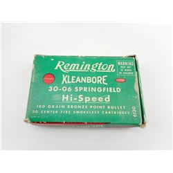 REMINGTON KLEANBORE 30-06 SPRINFIELD AMMO