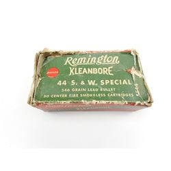 REMINGTON 44 S & W SPECIAL AMMO