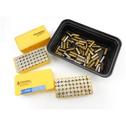 38 SPECIAL ASSORTED AMMO, BRASS, BRASS WITH BULLETS