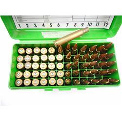 30-06 SPRINGFIELD AMMO, 30-06 BRASS IN PLASTIC CASE