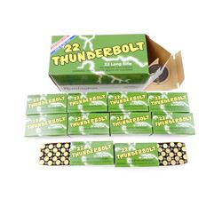 REMINGTON THUNDERBOLT 22 LONG RIFLE AMMO