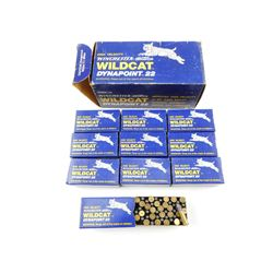 WINCHESTER-WESTERN WILDCAT 22 LONG RIFLE AMMO