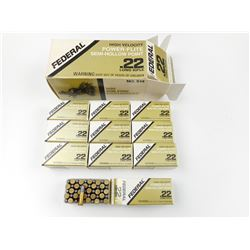 FEDERAL POWER-FLITE 22 LONG RIFLE AMMO