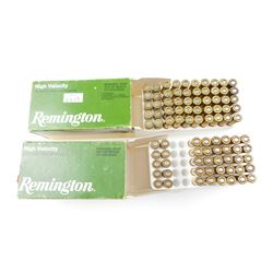 REMINGTON 22 HORNET AMMO, BRASS