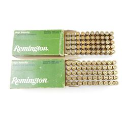 REMINGTON 32 S & W LONG ASSORTED AMMO, BRASS