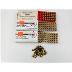 380 ACP AMMO ASSORTED, BRASS
