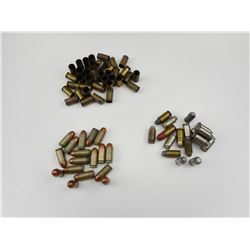 45 ACP ASSORTED AMMO, BRASS