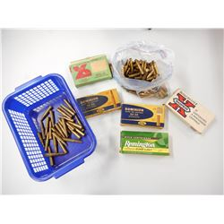 30-30 ASSORTED AMMO, BRASS