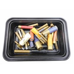 SHOTSHELLS/AMMO ASSORTED, BRASS