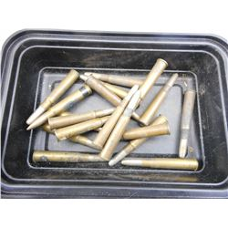 303 BRITISH AMMO ASSORTED, BRASS, BLANK