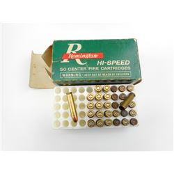 REMINGTON 30 CARBINE, 5.56 IVI AMMO