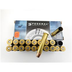 FEDERAL 45-70 AMMO/BRASS