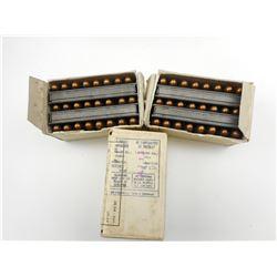 7.62 x 25 TOKAREV AMMO ON STRIPPER CLIPS