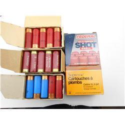 12 GAUGE ASSORTED SHOTGUN SHELLS