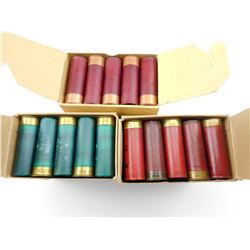12 GAUGE RELOADED SHOT SHELLS