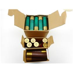 12 GA, 10 GA, ASSORTED SHOTSHELLS