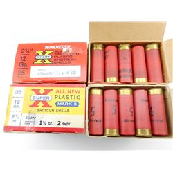 "12 GAUGE 2 3/4"" ASSORTED SHOT SHELLS"
