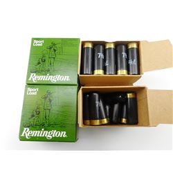 "REMINGTON 12 GAUGE 2 3/4"" SPORT LOAD SHOTSHELLS"