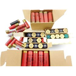12 GAUGE ASSORTED SHOTSHELLS, BLANKS