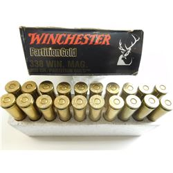 WINCHESTER 338 WIN MAG ASSORTED AMMO