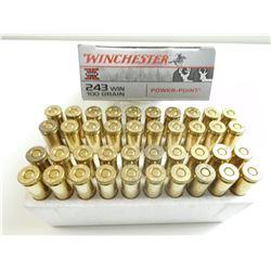 WINCHESTER SUPER-X 243 WIN AMMO