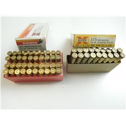 375 WIN. AND 375 H & H MAGNUM AMMO