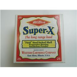 WESTERN SUPER-X 12 GAUGE SHOTSHELLS