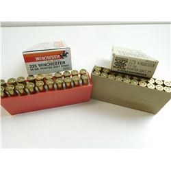 WINCHESTER 225 WIN AMMO ASSORTED