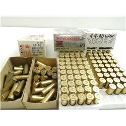 44-40 WIN ASSORTED AMMO, BRASS