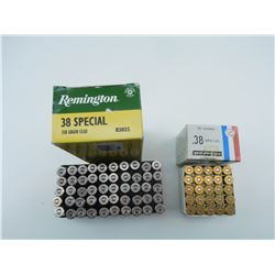 38 SPECIAL AMMO ASSORTED